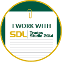 I'm using SDL Trados Studio 2014